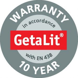 Getalit Quality Laminate Worktops complete with a 10 year Warranty