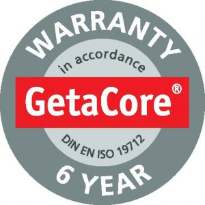 Getacore Quality Solid Surface Worktops complete with a 6 year Warranty