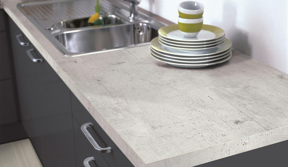 Quality Laminate Worktops available with a choice of edge detail. Worktops up to 1200mm wide.