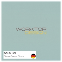 A505 Bril - Glass Green Gloss