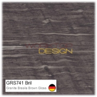 GRS741 Bril - Granite Brasila Brown Gloss