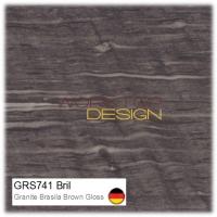 GRS741 Bril - Granite Brasila Brown Gloss