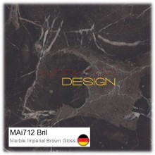MAi712 Bril - Marble Imperial Brown Gloss