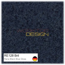 RE128 Bril - Rena Black Blue Gloss