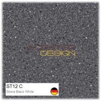 ST12 C - Stone Black White