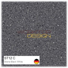 ST12 C - Stone Black White
