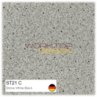 ST21 C - Stone White Black