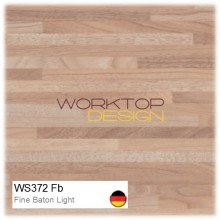 WS372 Fb - Fine Baton Butcherblock Light