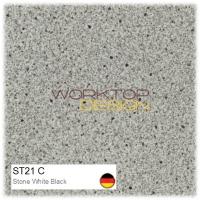 ST21 C - Stone White Black