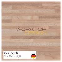 WS372 Fb - Fine Baton Butcherblock Light