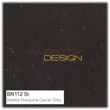 BN112 Si - Marble Marquina Caviar Grey