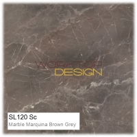 SL120 Sc - Marble Marquina Brown Grey