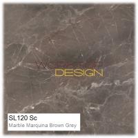 SL120 Sc - Marble Marquina Brown Grey