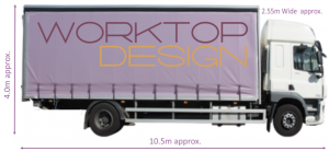 WorktopDesign Delivery Service