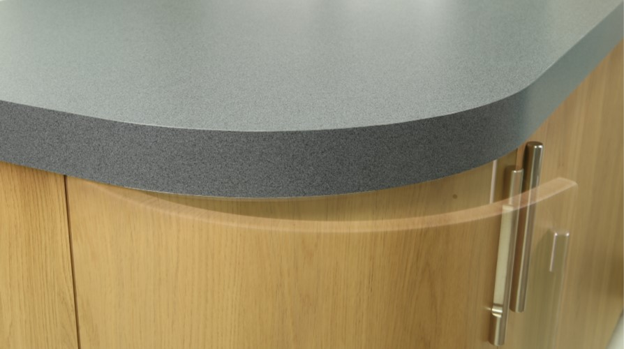 Curved Worktops In Laminate Amp Solid Surface Worktopdesign