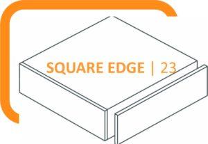 23mm thick Square Edge Laminate Worktops
