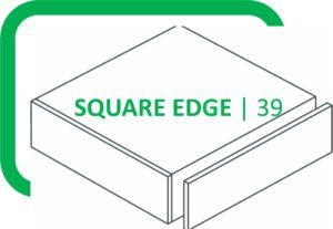 39mm Thick Square Edge Laminate Worktops